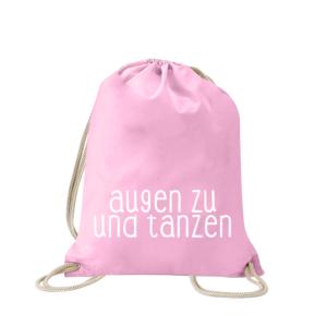 augen-zu-und-tanzen-turnbeutel-bedruckt-rucksack-stoffbeutel-hipster-beutel-gymsack-sportbeutel-tasche-turnsack-jutebeutel-turnbeutel-mit-spruch-turnbeutel-mit-motiv-spruch-für-frauen-pink-rosa