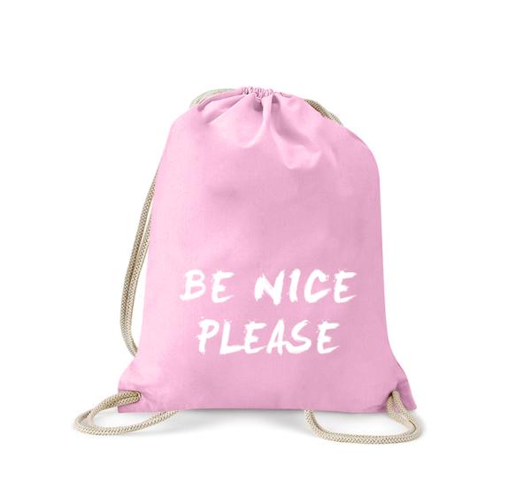 be-nice-please-turnbeutel-bedruckt-rucksack-stoffbeutel-hipster-beutel-gymsack-sportbeutel-tasche-turnsack-jutebeutel-turnbeutel-mit-spruch-turnbeutel-mit-motiv-spruch-für-frauen-pink-rosa