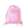 halts-maul-ich-bin-voll-nett-turnbeutel-bedruckt-rucksack-stoffbeutel-beutel-gymsack-sportbeutel-tasche-turnsack-jutebeutel-turnbeutel-mit-spruch-turnbeutel-mit-motiv-spruch-für-frauen-pink-rosa