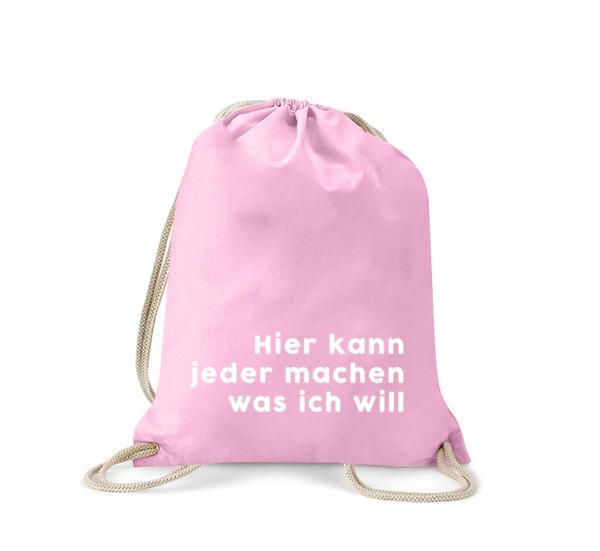 hier-kann-jeder-machen-was-ich-will-turnbeutel-bedruckt-rucksack-stoffbeutel-gymsack-sportbeutel-tasche-turnsack-jutebeutel-turnbeutel-mit-spruch-turnbeutel-mit-motiv-spruch-für-frauen-pink-rosa
