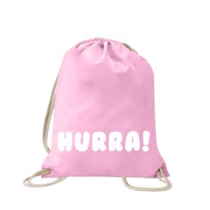 hurra-turnbeutel-bedruckt-rucksack-stoffbeutel-hipster-beutel-gymsack-sportbeutel-tasche-turnsack-jutebeutel-turnbeutel-mit-spruch-turnbeutel-mit-motiv-spruch-für-frauen-pink-natur-schwarz-rosa