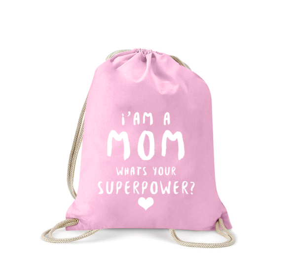 i-am-a-mom-mum-whats-your-superpower-turnbeutel-bedruckt-rucksack-stoffbeutel-gymsack-sportbeutel-tasche-turnsack-jutebeutel-turnbeutel-mit-spruch-turnbeutel-mit-motiv-spruch-für-frauen-pink-rosa