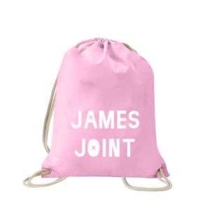 james-joint-turnbeutel-bedruckt-rucksack-stoffbeutel-hipster-beutel-gymsack-sportbeutel-tasche-turnsack-jutebeutel-turnbeutel-mit-spruch-turnbeutel-mit-motiv-spruch-für-frauen-pink-natur-schwarz-rosa