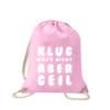klug-wars-nicht-aber-geil-turnbeutel-bedruckt-rucksack-stoffbeutel-hipster-beutel-gymsack-sportbeutel-tasche-turnsack-jutebeutel-turnbeutel-mit-spruch-turnbeutel-mit-motiv-spruch-für-frauen-rosa