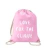love-for-the-clique-turnbeutel-bedruckt-rucksack-stoffbeutel-beutel-gymsack-sportbeutel-tasche-turnsack-jutebeutel-turnbeutel-mit-spruch-turnbeutel-mit-motiv-spruch-für-frauen-pink-rosa