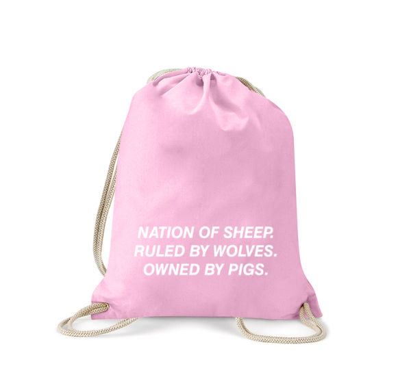 nation-of-sheeps-turnbeutel-bedruckt-rucksack-stoffbeutel-hipster-beutel-gymsack-sportbeutel-tasche-turnsack-jutebeutel-turnbeutel-mit-spruch-turnbeutel-mit-motiv-spruch-für-frauen-schwarz-natur-rosa