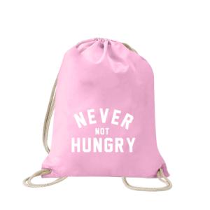 never-not-hungry-turnbeutel-bedruckt-rucksack-stoffbeutel-hipster-beutel-gymsack-sportbeutel-tasche-turnsack-jutebeutel-turnbeutel-mit-spruch-turnbeutel-mit-motiv-spruch-für-frauen-pink-rosa