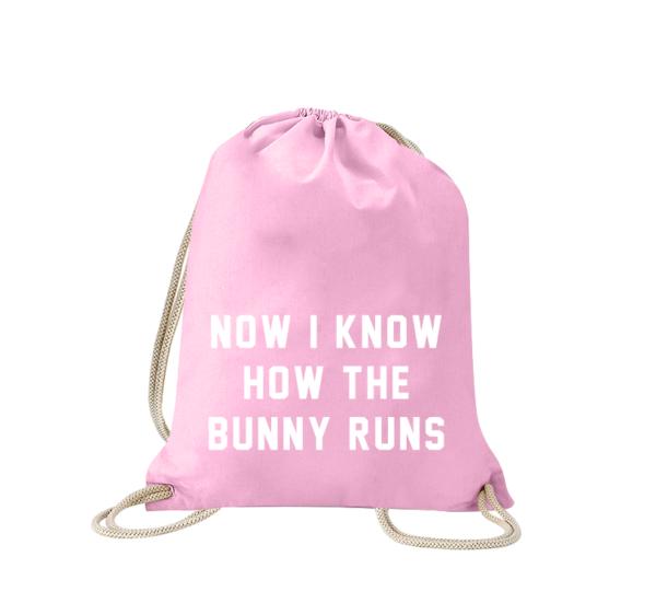 now-i-know-how-the-bunny-runs-turnbeutel-bedruckt-rucksack-stoffbeutel-hipster-beutel-gymsack-sportbeutel-tasche-turnsack-turnbeutel-mit-spruch-turnbeutel-mit-motiv-spruch-für-frauen-pink-rosa