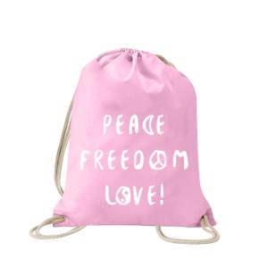 peace-freedom-love-turnbeutel-bedruckt-rucksack-stoffbeutel-hipster-beutel-gymsack-sportbeutel-tasche-turnsack-jutebeutel-turnbeutel-mit-spruch-turnbeutel-mit-motiv-spruch-für-frauen-pink-rosa