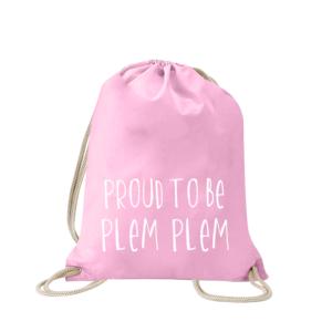 proud-to-be-plem-plem-turnbeutel-bedruckt-rucksack-stoffbeutel-hipster-beutel-gymsack-sportbeutel-tasche-turnsack-jutebeutel-turnbeutel-mit-spruch-turnbeutel-mit-motiv-spruch-für-frauen-pink-rosa