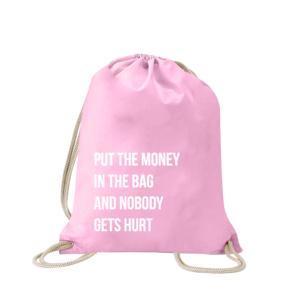 put-the-money-in-the-bag-turnbeutel-bedruckt-rucksack-stoffbeutel-hipster-beutel-gymsack-sportbeutel-tasche-turnsack-jutebeutel-turnbeutel-mit-spruch-turnbeutel-mit-motiv-spruch-für-frauen-pink-rosa