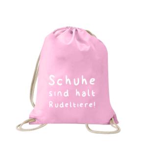 schuhe-sind-halt-rudeltiere-turnbeutel-bedruckt-rucksack-stoffbeutel-hipster-beutel-gymsack-sportbeutel-tasche-turnsack-jutebeutel-turnbeutel-mit-spruch-turnbeutel-mit-motiv-spruch-für-frauen-pink-rosa
